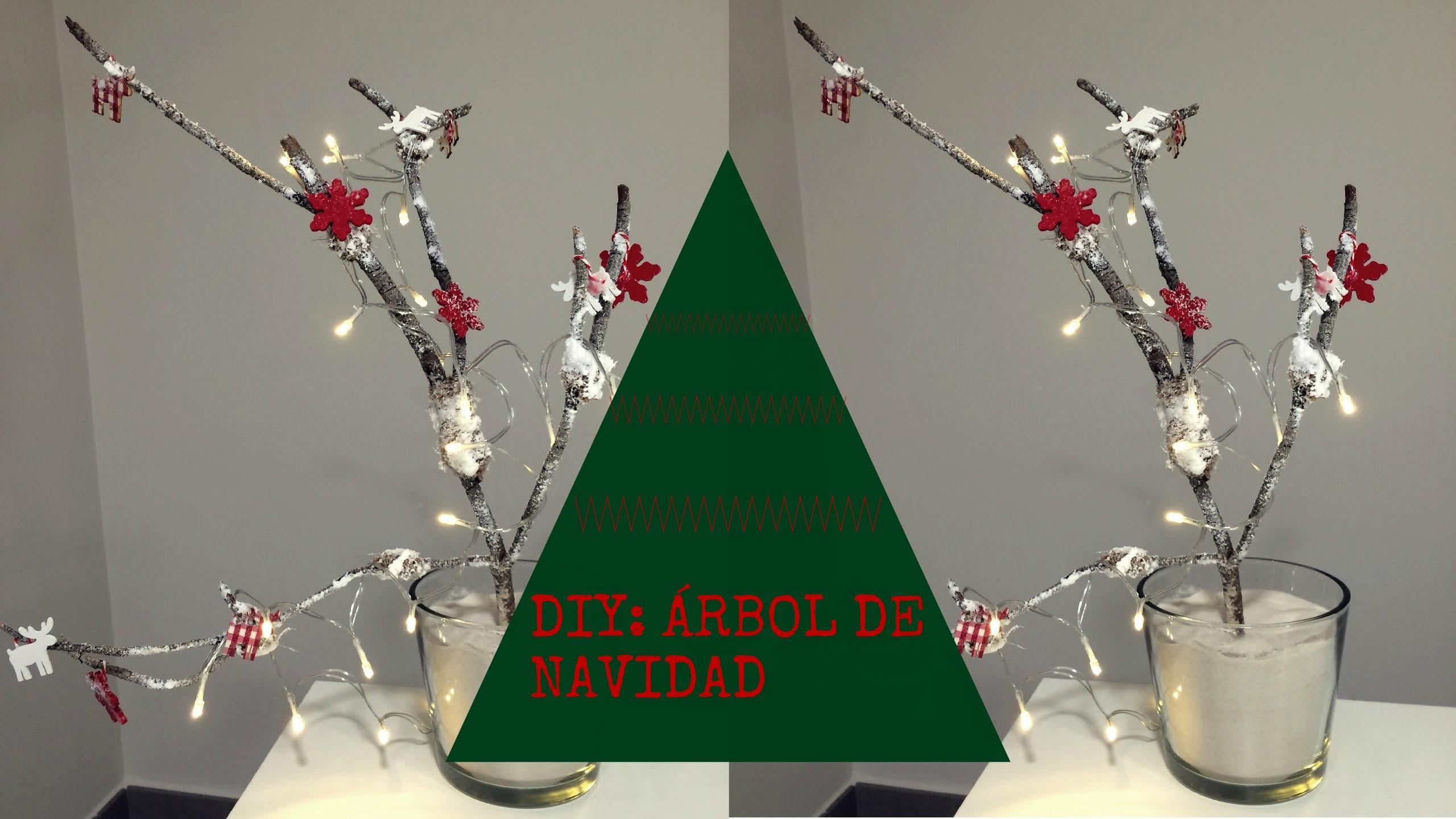 DIY: CHRISTMAS TREE. HAZ UN ÁRBOL DE NAVIDAD