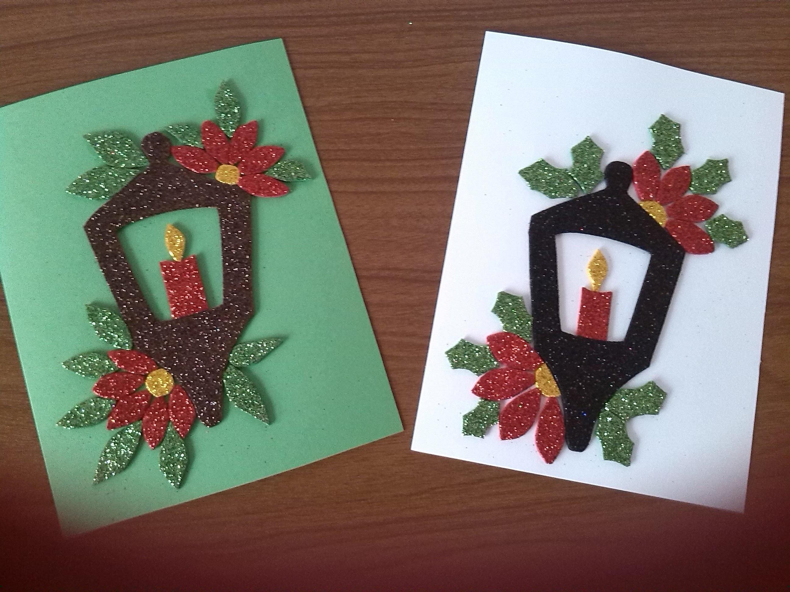 Tarjeta de Navidad Farolito!!! ( Christmas Card!!!)