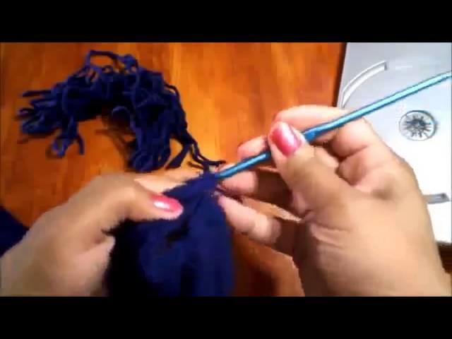 Bufanda en crochet que hace juego con Beanie Hat   Ideas de cintillos y bufandas1