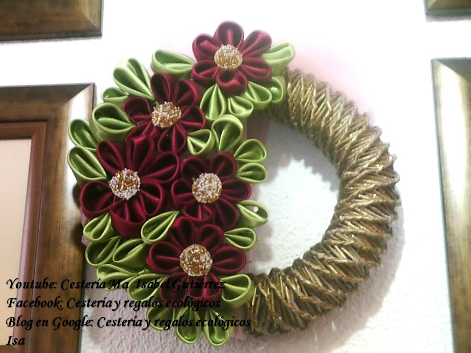 CORONA DECORATIVA DIY