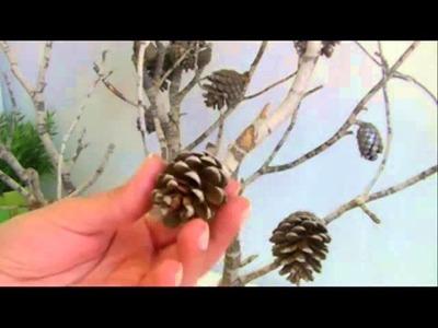 Diy. Arbol de navidad con ramas secas