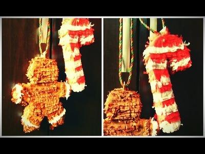 Haz mini piñatas navideñas - DIY