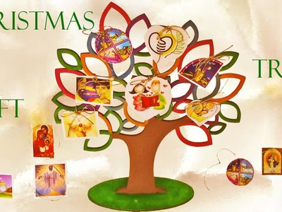 Como hacer un arbolito de navidad - How to make  Christmas tree