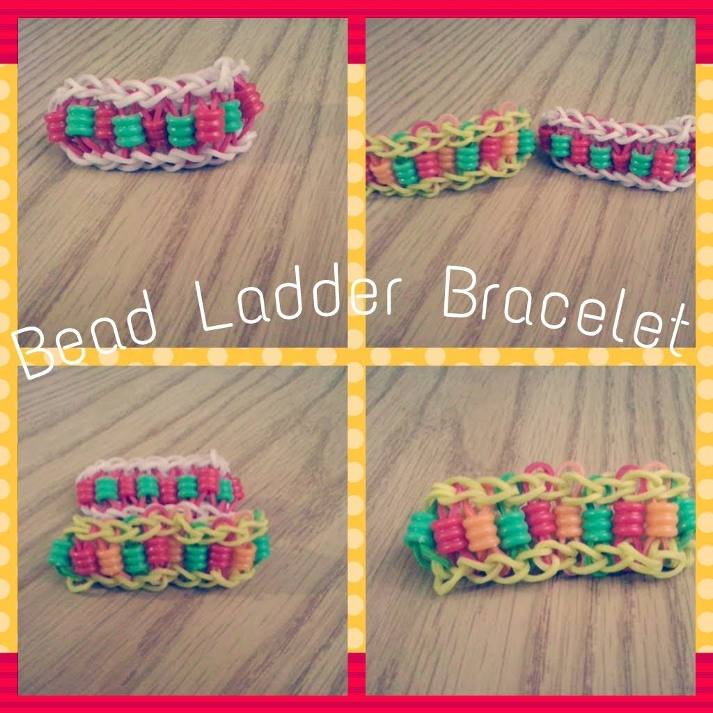 Como hacer una Bead Ladder Bracelet ♥