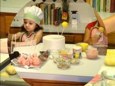 CAKE POPS, CAKE POPS, Cómo hacer  cake pops,   instrucciones fáciles, Los niños pueden hacerlas!!