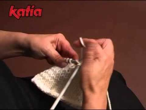 Cerrado simple · Simple bind off · Rabattre simplement