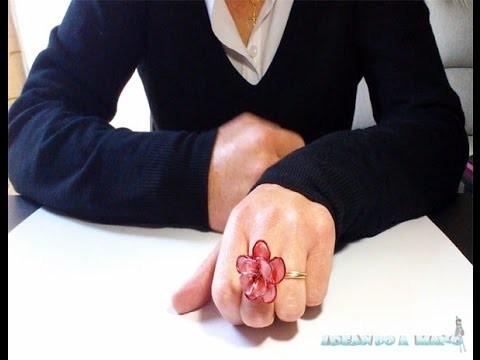 Cómo hacer un anillo con alambre y esmalte