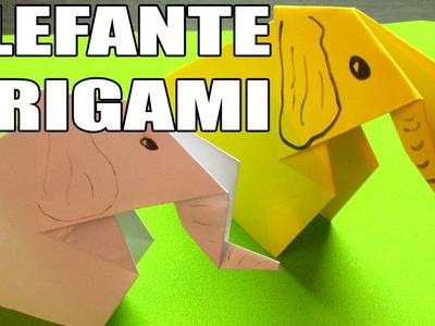 Como hacer un origami de papel | COMO HACER ELEFANTE DE PAPEL FACIL PASO A PASO (Muy fácil)