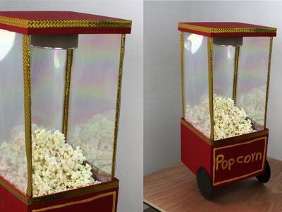 Cómo hacer una Máquina de Palomitas para Decorar. DIY - Hablobajito