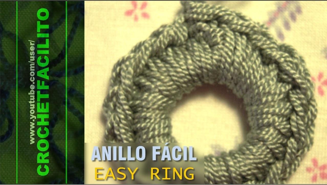 CROCHET - ANILLO FÁCIL - EASY RING