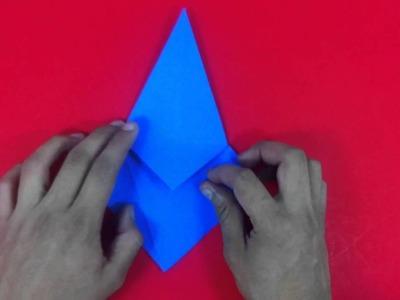 Cuervo de origami - Ideas para niños