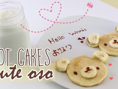 Desayuno CUTE: Hot Cakes de Oso