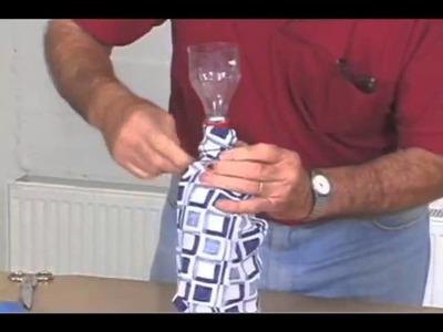 Manualidades Originales,una dama de botellas