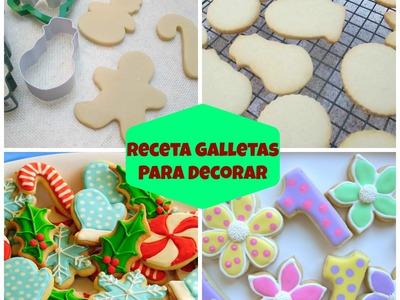 Receta Fácil De Galletas Para Decorar - Madelin's Cakes