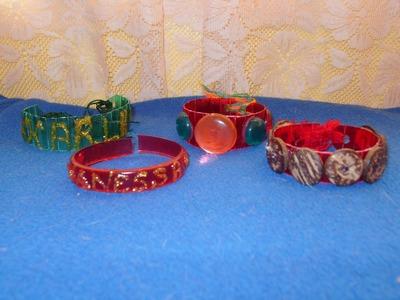 San Valentín DIY  brazaletes de la amistad