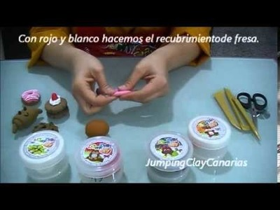 Tutorial Pasteleria Bakery (2.4) Jumping Clay
