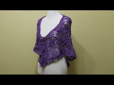 Chal Piñas Elegante y Fácil Crochet