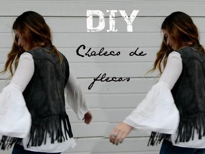 DIY - chaleco de flecos