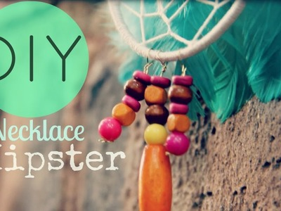 DIY Collar. Necklace Hipster