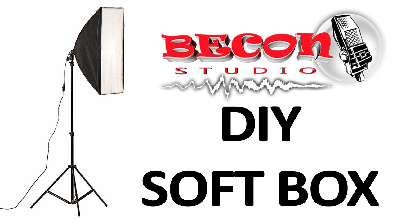 DIY SOFTBOX - SOFTBOX CASERO