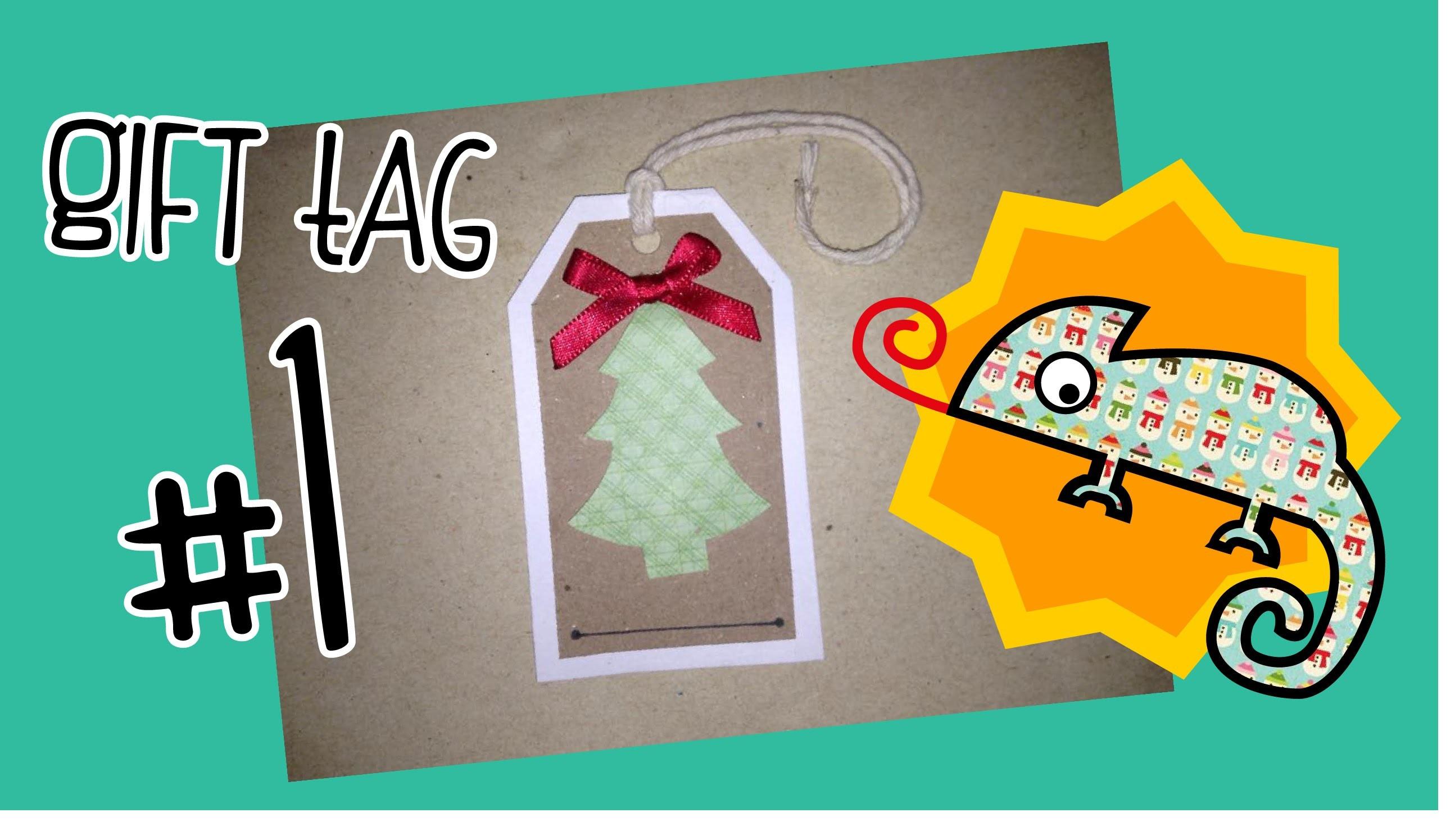 Gift Tag - árbol de Navidad