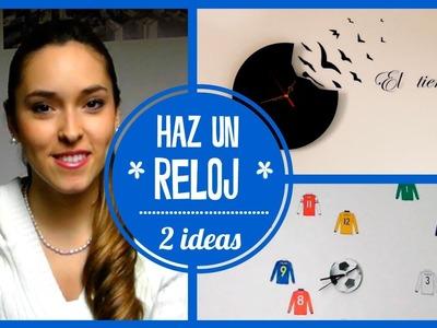 Haz un reloj que decore tu cuarto ♥ | Kika Nieto