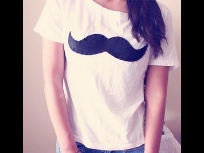 HTM: Tres maneras de hacer camisa de moustache