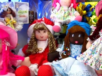 Las Muñecas de trapo mas lindas del mundo