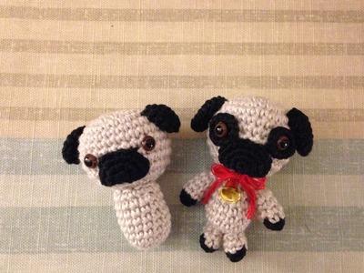 Amigurumi Perro Pug Patron : Crochet, Uniendo cuadrados (para colchas y frisas ...