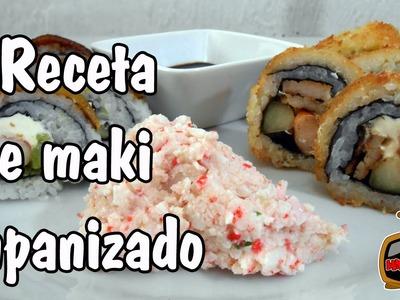 Receta de Maki Sushi empanizado