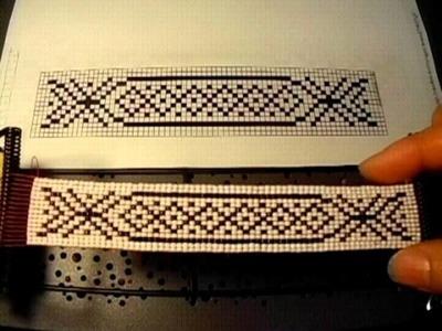 Tutorial como usar el telar para pulseras ojala que les agrade es muy fácil #7