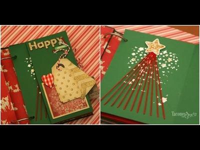 Álbum de Navidad para recuerdos, manualidad de regalo