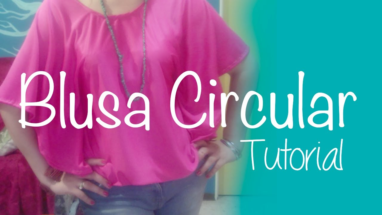 ♥ Blusa Circular ☁ Tutorial~Moda Vintage♥