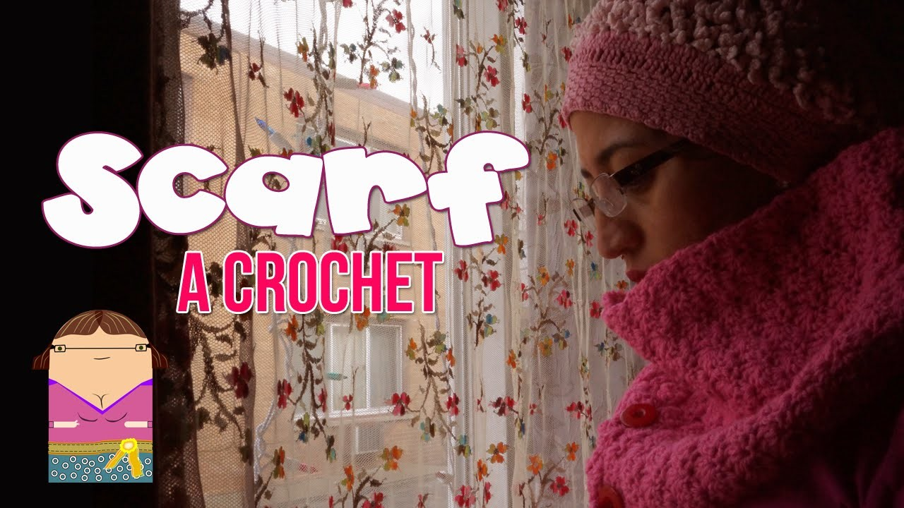 Bufanda Crochet (fishscale)