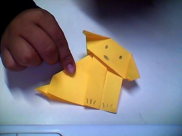 COMO HACER UN PERRO TIERNO de origami (bien explicado)