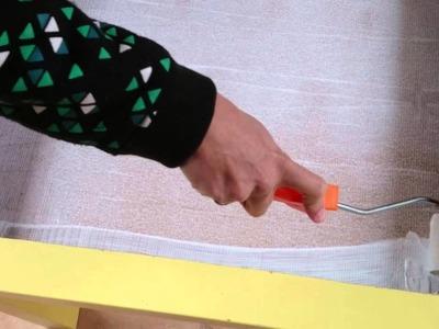 Como hacer una mesa de luz casera para niños
