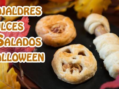Hojaldres Dulces y Salados Halloween, Calabazas y Momias