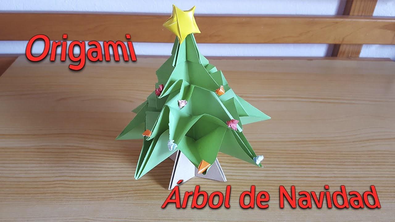 Origami - Árbol de Navidad