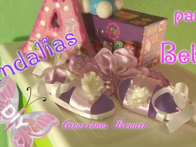 Sandalias para Bebe en foamy. Easy Baby Sandals Shoes