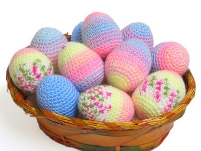 Tutorial Huevos de Pascua Amigurumi (parte 2 de 2)