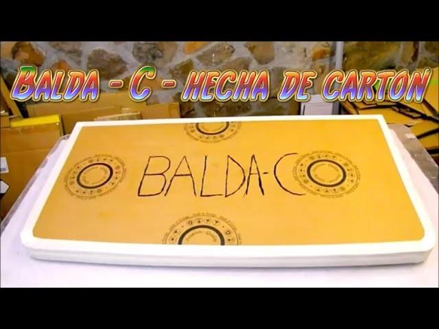 Balda- C - base o repisa hecha con carton para muebles de cartón DIY