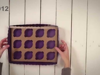 Cajas para 12 Cupcakes - Vídeo de montaje ref. 3012 SelfPackaging