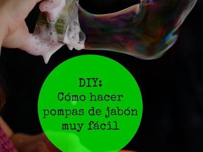 Cómo hacer líquido para pompas de jabón ENORMES
