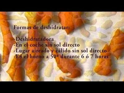 Cómo hacer polvo de cáscaras de naranja (micronizado). Ingrediente de cosmética natural. Vídeo.