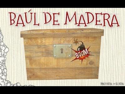 Cómo Hacer Un Baúl De Madera Con Un Palé Con Bricozeta- & El zeta-