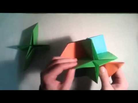 Como hacer una estrella de 12 puntas origami  [Origami - Papiroflexia]