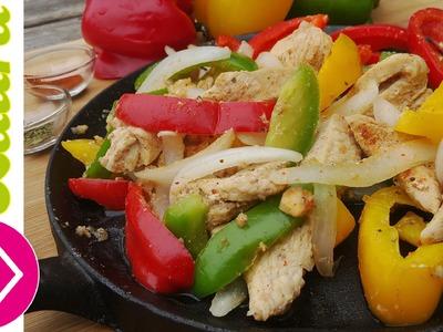 Fajitas de Pollo Receta Fácil y Saludable Fajitas Recipe