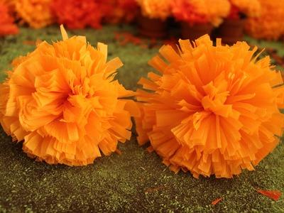Flores de cempasúchil + Día de muertos