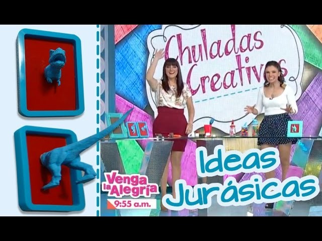 Ideas Jurasicas para Decorar :: Dinosaurios :: Chuladas Creativas y Venga la AlegríaAzteca
