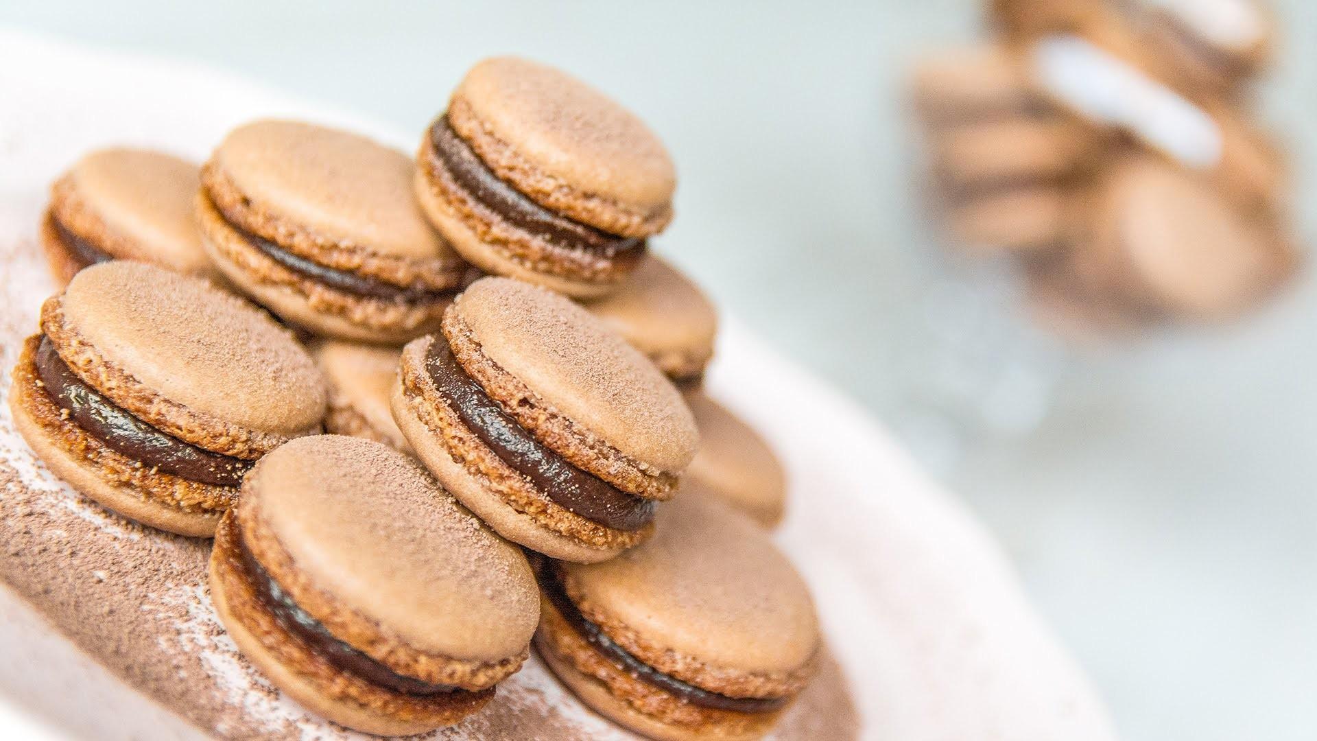 Macarons de chocolate - Receta sencilla | Quiero Cupcakes!